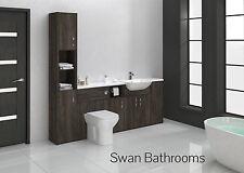 Mali wengé meubles de salle de bain monté 2100mm avec unité de hauteur