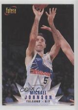 1996-97 Futera NBL #50 Michael Johnson Newcastle Falcons Rookie Basketball Card