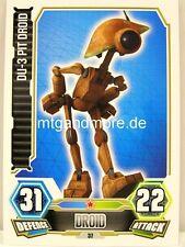 DU-3 Pit Droid  #037 - Force Attax Serie 3