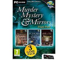 Murder, Mystery & Mirrors Triple Pack (PC CD), Good Windows 7, Windows Vista, Wi