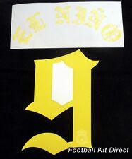 "Liverpool EL Nino 9 ""Torres 9"" Limited Edition Football Shirt Name Set Yellow"