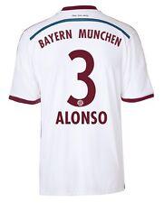 Camiseta adidas fc bayern 2014-2015 away-alonso 3 [128 hasta XXL] FCB