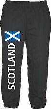 SCOTLAND Jogginghose - Mit Flagge Druck -  Gr. M bis XXL - Schwarz - Schottland