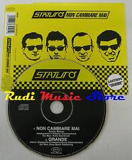 CD Singolo STATUTO Non cambiare mai 1999 EPIC HOLLAND AUSTRIA NO mc lp dvd S4