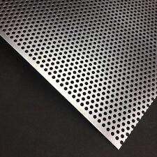 Lochblech Günstig zuschnitte auf Maß Alu RV5-8 1,5mm dick Aluminium NEU