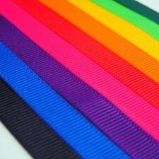 Grosgrain Ribbon Full 100 Yard Wholesale Rolls - 3mm 6mm 10mm 13mm 19mm 25mm
