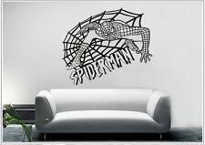 Wandtattoo wandaufkleber wandsticker photo tanzen Porträt spider Man wph48