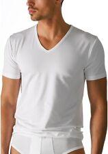 Mey Dry Cotton Herren V-Neck Shirt 46007 46107 Unterhemd halbarm schw. o. weiß
