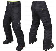 M3 Griffin Black Mens Ski Snowboard Pants NEW