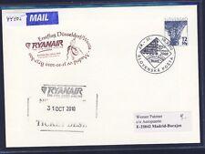 44405) Irland Ryanair FF DD/Weeze - Madrid 31.10.10, feeder mail Slovakei GAU