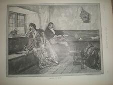 Sposato in fretta T W Lascelles Da Delaporte Downing 1891 Old print