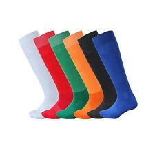 Men Youth Kids Footy Football Sports Socks Colorful Over Knee Ankle Socks