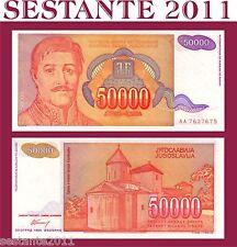 YUGOSLAVIA / JUGOSLAVIA  - 50000 50.000 DINARA 1994 PREFIX AA P 142 - FDS / UNC