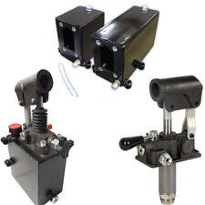 Hydraulik Handpumpe einfachwirkend + doppelwirkend 25 - 45ccm inkl. Tank + Hebel