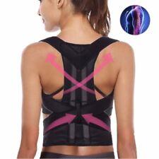 New Magnetic Posture Corrector Belt for Lumbar Lower Back Support Shoulder Brace