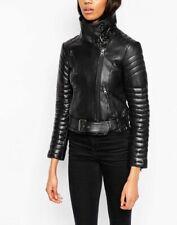 Awesome Leather Jacket Motorcycle Women's S HOT Coat Jackets Biker Moto Vintage