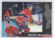 1998-99 Pacific Omega #125 Martin Rucinsky Montreal Canadiens Hockey Card