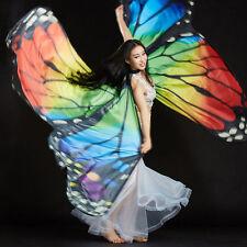 2017 New Butterfly Wings Egyptian Butterfly Belly Dance Costume Dance Wear 360°