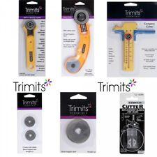 Trimits Cortador Rotatorio 28 mm, 45 mm y Compás Cortador + Repuesto Para