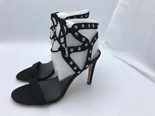 Dolce Vita Hetty Gladiator Sandal Heels (1803-1806) Black Stella Suede