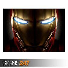 CASCO di Iron Man (ab084) MOVIE POSTER-Foto immagine stampa poster art a0 a a4