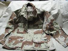 Medium XX short blouse top coat US desert storm camo rip stop choclate chip USA