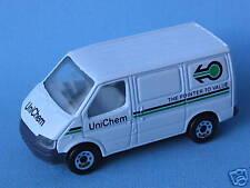 Matchbox Ford Transit Unichem RHD Toy Model Delivery Van 75mm