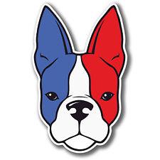 2 x BULLDOG FRANCESE ADESIVI BANDIERA per amanti dei cani PAW AUTO MOTO iPad Laptop Decalcomania # 4079