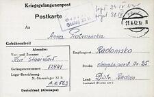 Camp Stalag XIB Fallingbostel 1942 POW Prisoner of War Kriegsgefangenenpost K1a