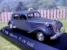 1/43  Solido (France)  Citroen 15 Taxi