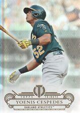 2014 Topps Tribute Baseball #2 Yoenis Cespedes Oakland Athletics