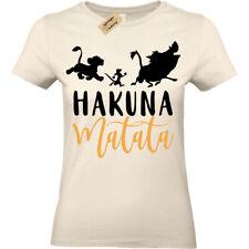 Hakuna Matata T-Shirt Lion Womens Ladies top