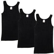 3e23f363b9 HERMKO 2000 3er Pack Mädchen Unterhemd girls Tank Top 100% Bio-Baumwolle  Singlet