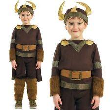 para niños VIKINGO Disfraz infantil Día Del Libro Disfraz M L XL NUEVO