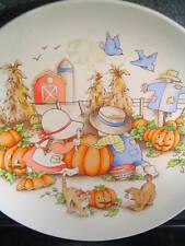 1991 Country Kids SHARING IS FUN Watkins Inc Dessert Collector Plate