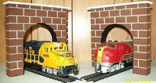 HO SCALE TUNNEL PORTALS FOR MODEL RAILROAD TRAIN LAYOUT