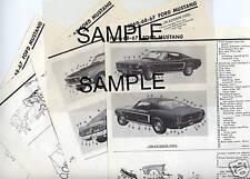 1961 1962 1963 1964 MERCURY METEOR BODY PARTS LIST FRAME CRASH SHEETS MRE