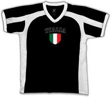 Italia Italy Flag Crest Italian National Country Pride Retro Sport T-shirt