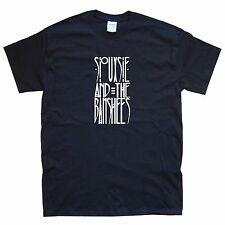 Siouxsie and the Banshees T-SHIRT sizes S M L XL XXL colours Black, White