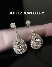 Tear Drop Earring/Wedding/Bridal/Bridesmaid/Simulated diamond/RGE444/N446