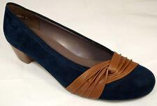 Jenny  Ara Schuhe Damen Pumps blau kastanie Weite H  Neu 320/4