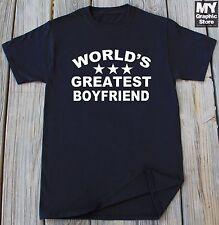 World's Greatest Boyfriend shirt Gift for Boyfriend Valentine's day Gift for him