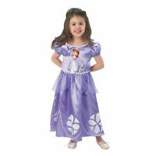 DISNEY robe déguisement Princesse SOFIA violette taille 3-4 ans NEUVE