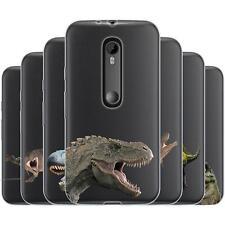 Dessana prehistórico dinosaurios de silicona, funda protectora, funda, móvil bolso para Motorola