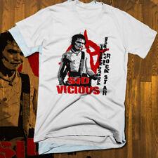 Sid Vicious T-shirt, British punk, rock music, anarchy, mugshot, Sex Pistols new