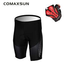 Comaxsun Cycling Shorts 5D Gel Padded Outdoor Wear Bike Bicycle Pants S-3XL S14