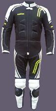 Tuta Intera Minimoto Racing Pelle Bovina e Cordura Polyester 600D Protezioni CE