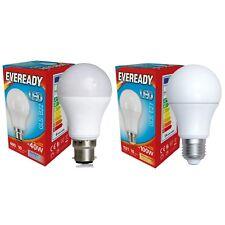 Paquetes de Eveready Led GLS Lámparas B22/E27 Luz Natural 6000k / Blanco Cálido