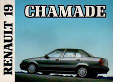 Renault R 19 chamade manual de instrucciones de 1990 instrucciones de uso manual ba