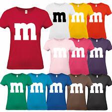 M M Damen T-Shirt Gruppen Kostüm Karneval Fasching Verkleidung Party Fans 55e6e28d52